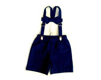 Baby Boy Outfit, Ring Bearer set, Boys outfit, Suspenders Set, Baby boy suit, Braces tie shorts, Ring Boy Outfit, Toddler boy, baby boy prop