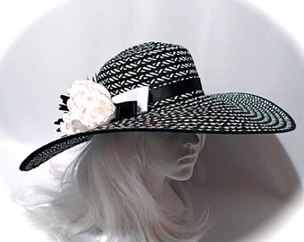 Chevron Derby Hat Women's Hats Hats Mother of the Bride DH-144