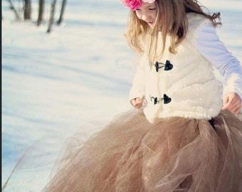 Birthday tutu- Customize a tutu-- Birthday dress- Girl Birthday Dress- Crown Headband- Flower girl tutu- Flower girl Dress- Tea Party Tutu