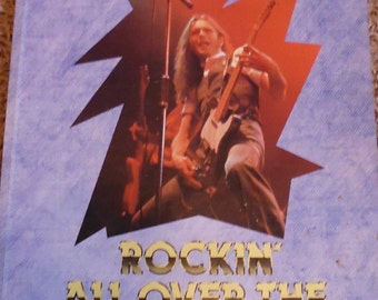 Status Quo, Rockin' All Over the World by Neil Jeffries, rock and roll book, rock music, Francis Rossi, Rick Parfitt, Alan Lancaster