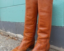 vintage 70s frye campus boots size 9 -70s