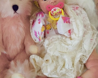 Completed Reborn Baby Marissa from the Jewel 18 inch Kit  Completed Baby by Little Blessings