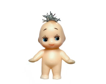 Mini vintage Kewpie doll - for 1/6 scale dollhouse collection - perfect for Blythe, Pullip, and Lati