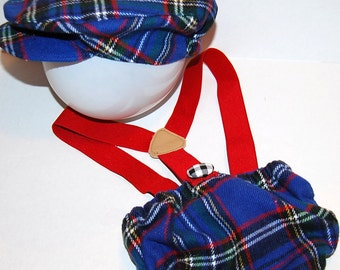 Newsboy hat, newsboys cap.infant .baby boy. photo prop . dapper baby. plaid. flat cap.stripes. blue. red