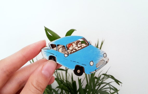 The Flying Ford Angelia Brooch