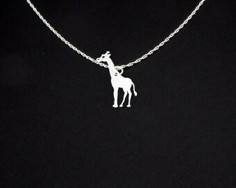 Giraffe Necklace - Giraffe Jewelry - Giraffe Gift