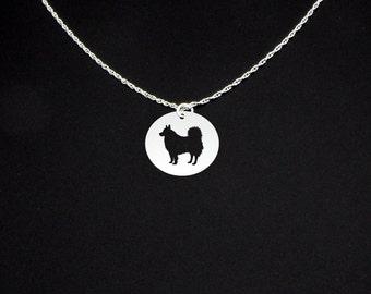 Miniature American Eskimo Dog Necklace - Miniature American Eskimo Dog Jewelry - American Eskimo Dog Gift