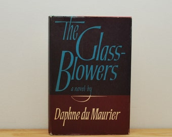 SALE! Glass Blowers by Daphne du Maurier, vintage hardback with dust jacket, 1960s The Reprint Society, French Revolution, history biography
