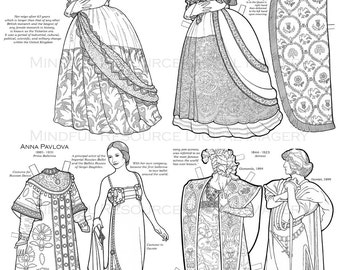 vintage coloring pages etsy - photo#47