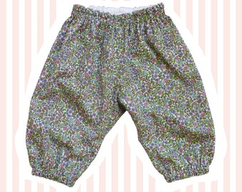 Liberty Tana Lawn Baby Bloomers | Emilia's Flowers