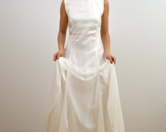 "wedding dress ""Florine"" silk,chiffon,long dress"