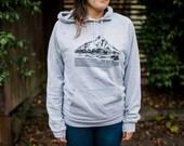 Portland Sweatshirt, Mt Hood, Love From the Hood Hoodie