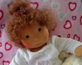 17 inch handmade Waldorf Doll  cloth doll waldorf doll human figure doll ready to go