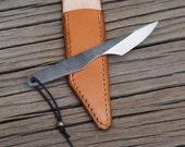 Mini kiridashi , EDC knife, neck knife, carving knife