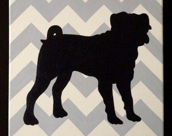 Items Similar To Custom Art Pet Silhouette 5 Quot X 7 Quot On Etsy