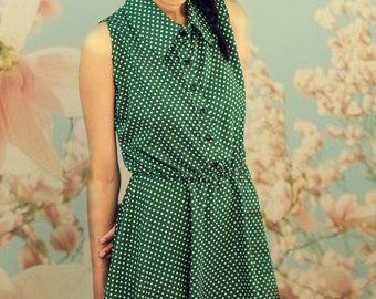 Miju dress with polka dots