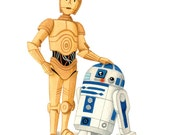 Star Wars - R2D2 & C3PO - open edition art print