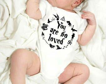 You Are So Loved  Baby Bodysuit / Baby Shower Gift / Newborn Baby Gift / Coming Home Outfit / Baby Boy / Baby Girl