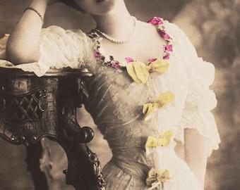 Elegant Edwardian Lady - New 4x6 Vintage Image Photo Print - LE150