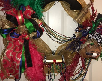 Large Gasparilla Wreath