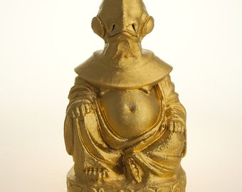 Star Wars - Admiral Ackbar Buddha (Brilliant Gold)