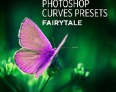 Photoshop Curves Preset - Fairytale - Use as PS Resource, Color Pop for Photo Editing & More