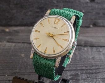 Mens watch, Vintage Pobeda mens watch russian watch, soviet mechanical watch, cccp ussr, vintage russian watch, vintage mens watch