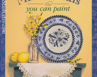 Painting Book - Decorative Mini Murals You Can Paint - Kerry Trout - Murals on Doors, Window Shades, Boxes, Etc.