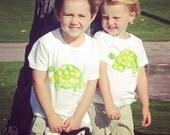 Turtle Shirt Hawaii - Hawaii Baby Shirt - Hawaii Baby Gift - Turtle Shirt - Hand Painted Turtle - Toddler Turtle Shirt - Kauai Hand Painted