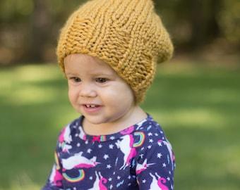 Chunky Slouchy Beanie Hat