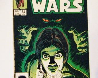 1984 Star Wars Marvel Comic Book #84 In Excellent Condition