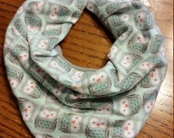 Baby bandana bib, scarf bib, drool bib