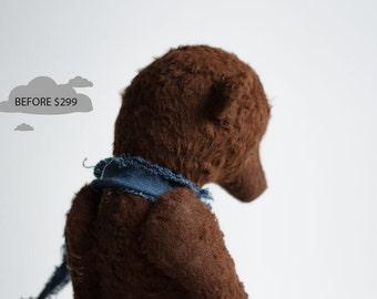 SALE 25% OFF 12 Inches Stuffed Animals Brown Teddy Bear Igor Soft Toys