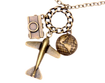 Necklace Travel the world