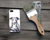 Dog phone case, puppy watercolor painting, gear for iPhone mobiles, mobile accessories