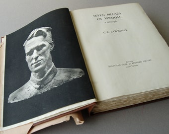 Seven Pillars of Wisdom By T E Lawrence, Lawrence of Arabia, Arab Revolt, Ottoman Empire