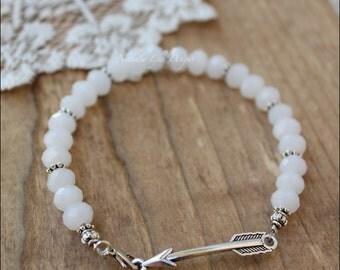 Arrow Bracelet, Arrow Jewelry, Silver Arrow Bracelet, Silver Bracelet, Boho Bracelet