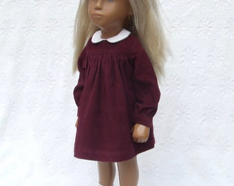 """Choice of Colour - Babycord Dress and Pants Outfit for 16"""" or 17"""" Sasha doll"""