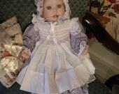 Lee Middleton Doll - Baby Grace- 1990 NIB COA - 451 / 500