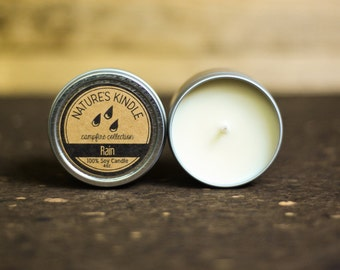 4 oz Premium Soy Candle | Travel Tin