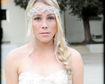 Crystal Headband ,Bridal Headband, Vintage Headband, Wedding Headband, Crystal Headband, Wedding Hair Piece,Bridal Headpiece