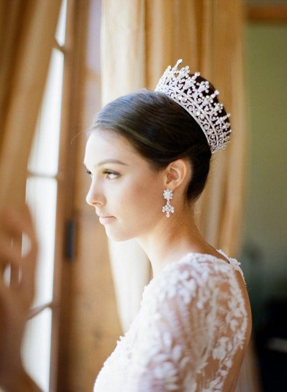 PORTIA Full Bridal Crown