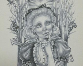 Tulgey Wood: Alice in Wonderland