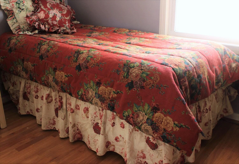 Ralph Lauren Bedding Aylesbury Floral Comforter Only Twin