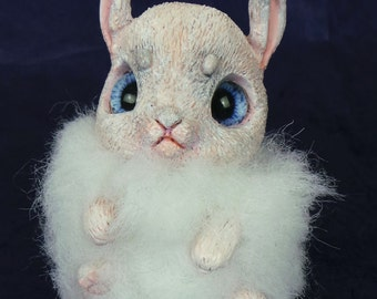 RESERVED Marshmallow the BonBun OOAK Art Doll