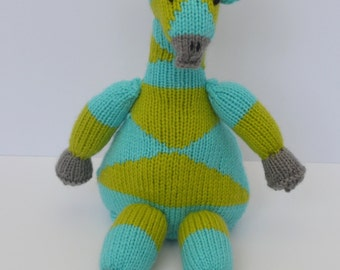 Giraffe Stuffed Animal, Amigurumi, Toy Giraffe, Handmade Plushie, Soft Toy For Baby, Personalized Stuffed Animal, Stuffed Toy, Animal Knit