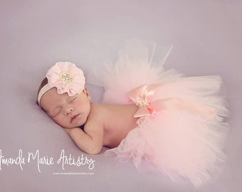 Pink Baby Headbands, Baby Headband, Newborn Headband, Baby Headband, Christening Headband, Newborn Headbands, Girl Headbands, Baby Headband