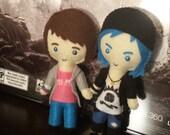 Life is Strange Inspired Plushie (Max or Chloe)