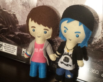 Life is Strange Inspired Plushie (Max or Chloe)