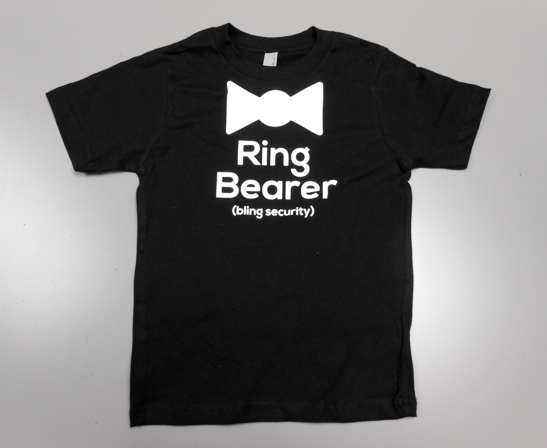 Ring Bearer Kids Tshirts